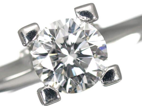 ハリーウィンストン ダイヤモンド0.51カラット プラチナ950 180,000円