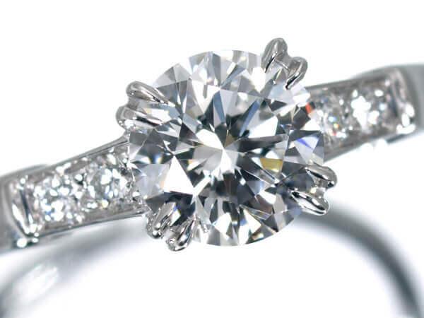 ハリーウィンストン ダイヤモンド0.72カラット プラチナ950 350,000円
