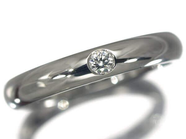 ハリーウィンストン ダイヤモンド1P バンド プラチナ950 50,000円