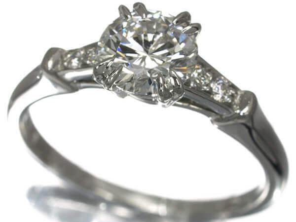 ハリーウィンストン ダイヤモンド1.02カラット トリストリング(カラーG,クラリティFVS1,カットVG) 900,000円
